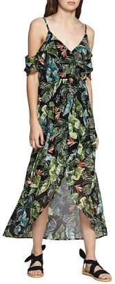 Sanctuary Sofia Ruffled Print Maxi Dress