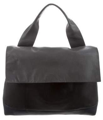 Marni Tricolor Leather Satchel