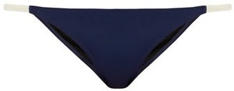 Solid & Striped The Morgan Bikini Briefs - Womens - Navy Multi