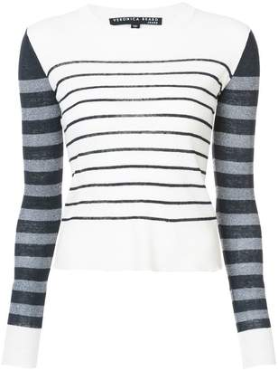 Veronica Beard Brae striped sweater