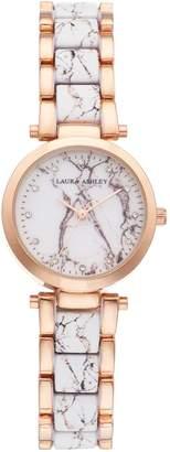 Laura Ashley Lifestyles Women's Marbleized Watch
