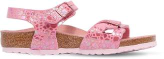 Birkenstock Printed Faux Leather Sandals