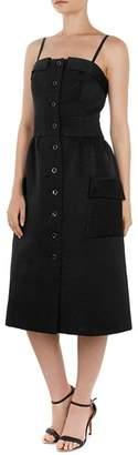 Ted Baker Octovia Ribbed Midi Dress