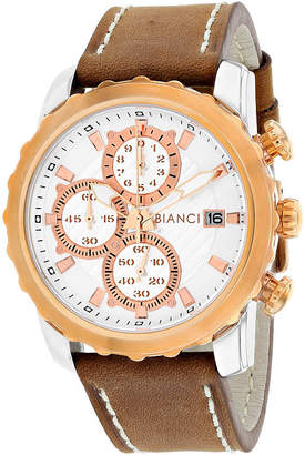 Roberto Bianci Mens Brown Bracelet Watch-Rb54471