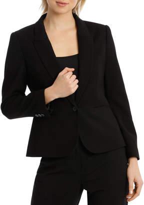 Peplum Prism Suit Jacket