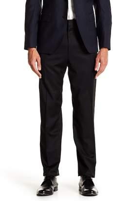 BOSS Hendris Solid Virgin Wool Trousers