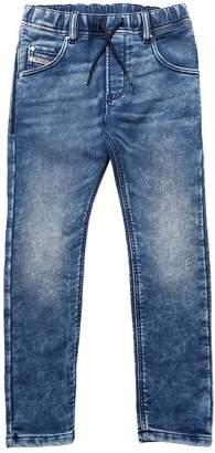 Diesel Faded Denim Effect Cotton Joggjeans