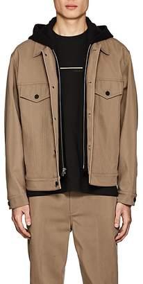 Alexander Wang Men's Layered-Look Cotton-Blend Trucker Jacket