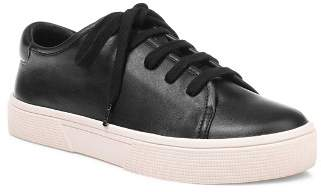 Splendid Women's Norvin Round Toe Lace Up Leather Sneakers