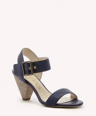 Sole Society Missy leather mid heel sandal