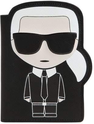 Karl Lagerfeld Paris K/ikonic Passport Holder