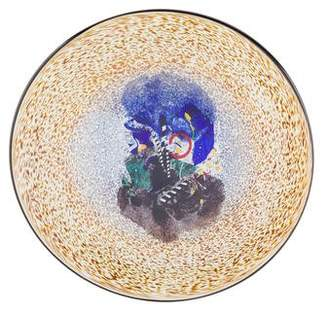 Kosta Boda Footed Glass Plate