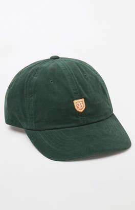 Brixton B Shield Corduroy Strapback Dad Hat