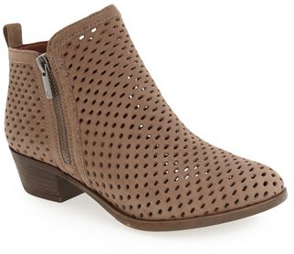 Women's Lucky Brand Basel Perforated Bootie $119.95 thestylecure.com