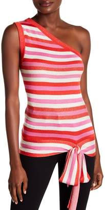 Rachel Roy Wave Stripe Tank Top
