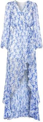 Caroline Constas Liv Floral Wrap Dress