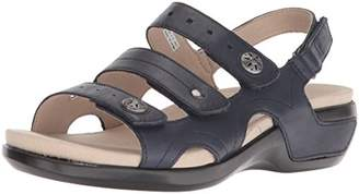 Aravon Women's Pc Three Strap Sandal