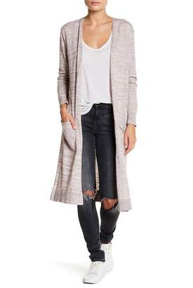 SUSINA Long Sleeve Space Dye Duster (Petite) $29.97 thestylecure.com