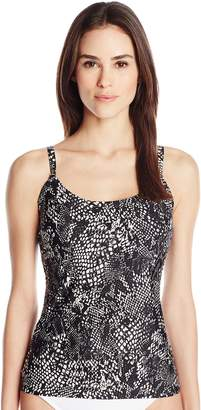 Calvin Klein Women's Over The Shoulder Tankini