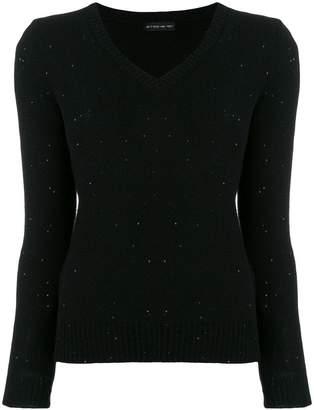 Etro sequin detail sweater