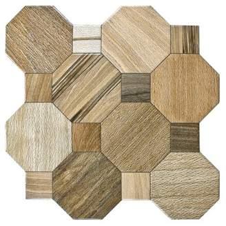 EliteTile SAMPLE - Meaco Ceramic Floor and Wall Tile in Brown