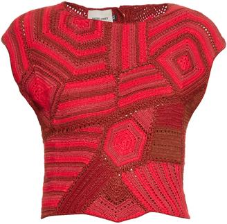 RACHEL COMEY Crochet cropped top $495 thestylecure.com