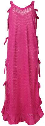 Marco De Vincenzo tie knit dress