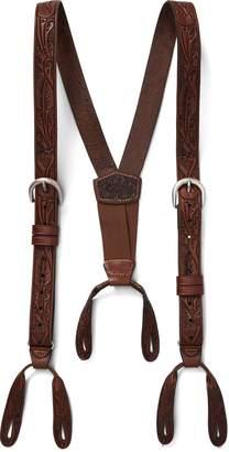 Ralph Lauren Hand-Tooled Leather Braces