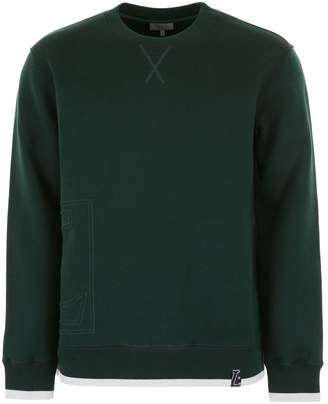 Lanvin Sweatshirt With Logo Embroidery