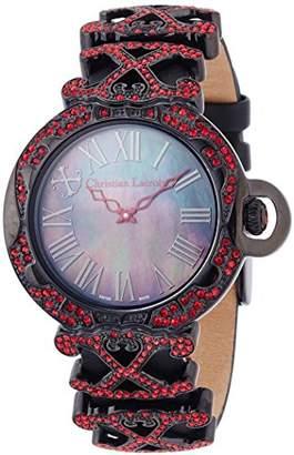Christian Lacroix (クリスチャン ラクロワ) - [クリスチャン・ラクロア]CHRISTIAN LACROIX 腕時計クォーツ C CLW8002424SM レディース 【正規輸入品】
