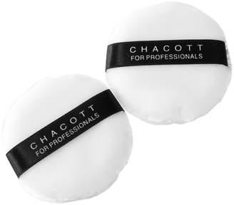 Chacott Cosmetics 【30g容器用】パウダーパフ(小)2ヶ入(C)FDB