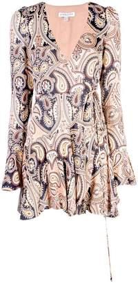 Shona Joy hendrix mini wrap dress