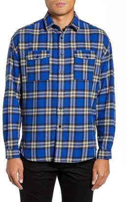 The Kooples Check Flannel Shirt