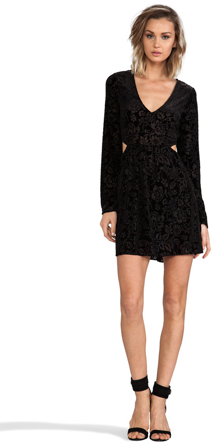 Dolce Vita Barbarella Stretch Velvet Dress