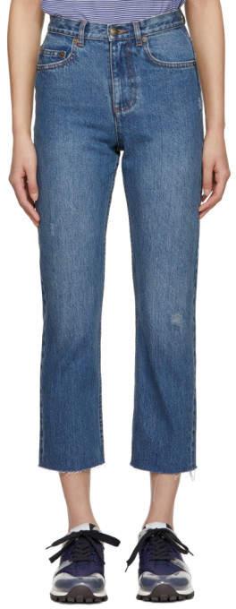 Indigo Standard Coupe Jeans