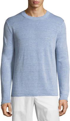 Vince Linen Crewneck Sweater