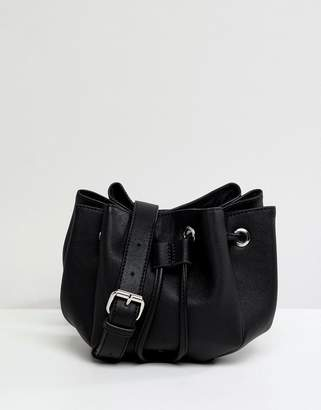 Pieces Mini Cross Body Bucket Bag