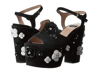 Moschino Embellished Platform Sandal Women's Sandals