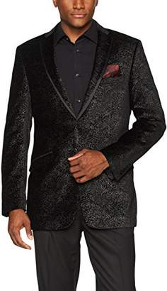 Adolfo Men's Sparkle Velvet Sport Coat