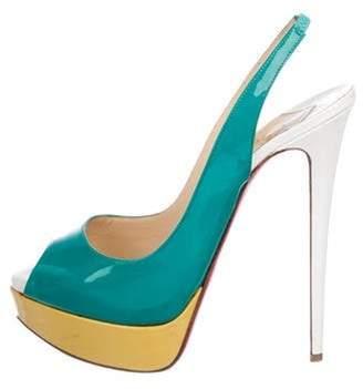 7258252646c Christian Louboutin Block Heel Women's Sandals - ShopStyle