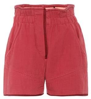 Isabel Marant Esy cotton shorts
