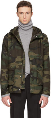 Tiger of Sweden Green Camo Mirto Jacket