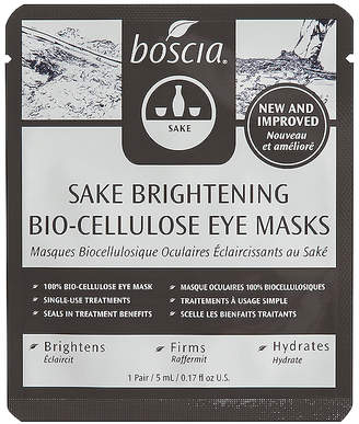 Boscia Sake Brightening Bio-Cellulose Eye Masks 3 Pack