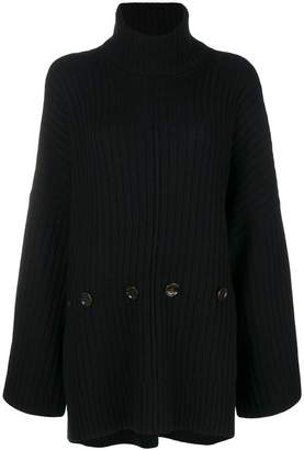 Joseph ribbed turtleneck jumper