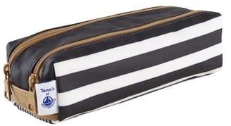 Petit Bateau Tann's Double Pencil Case Mariniére x