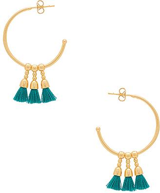 gorjana Baja Hoop Earrings in Metallic Gold. $40 thestylecure.com