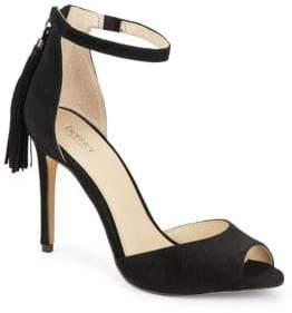 Botkier New York Anna Tasseled Suede Stiletto Sandals