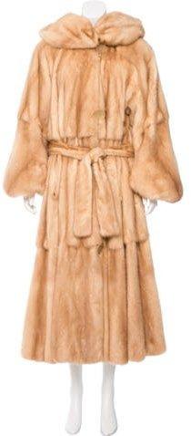 Fendi Mink Reversible Coat
