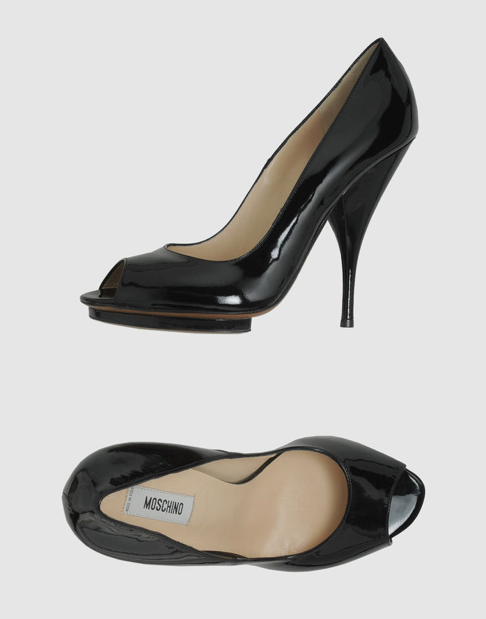MOSCHINO Pumps with open toe