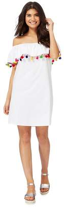 Noisy May White Off The Shoulder Dress